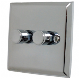 Spectrum Polished Chrome Dimmer Switches